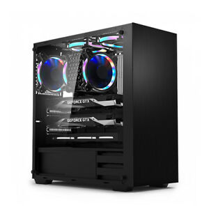 DAVEN-Mid-Tower-GT101-Tempered-Glass-ARGB-Gaming-Computer-Case-USB-3-0X1-2-0X2