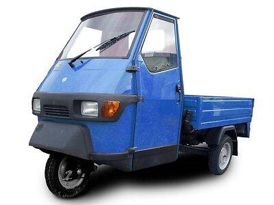 trehjulet knallert