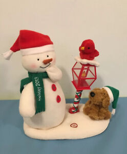 2013 Hallmark Jingle Pals Merry Carolers Animated Singing Snowman Music Works