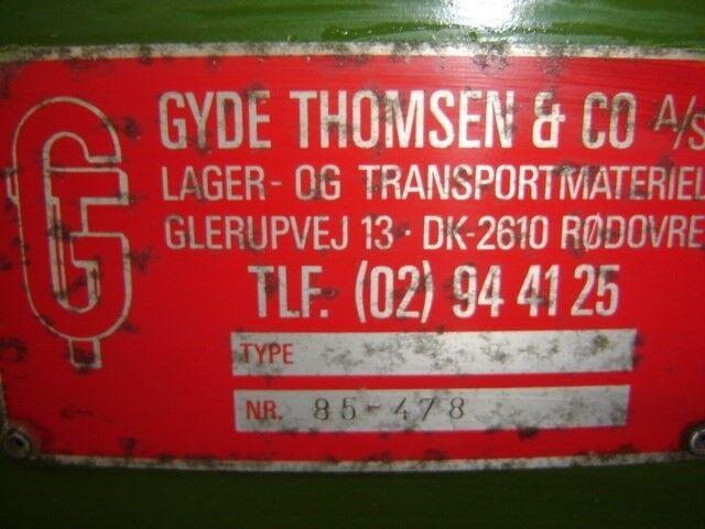 Transportbånd 90 grader´s vinkel: GYDE THOMSEN