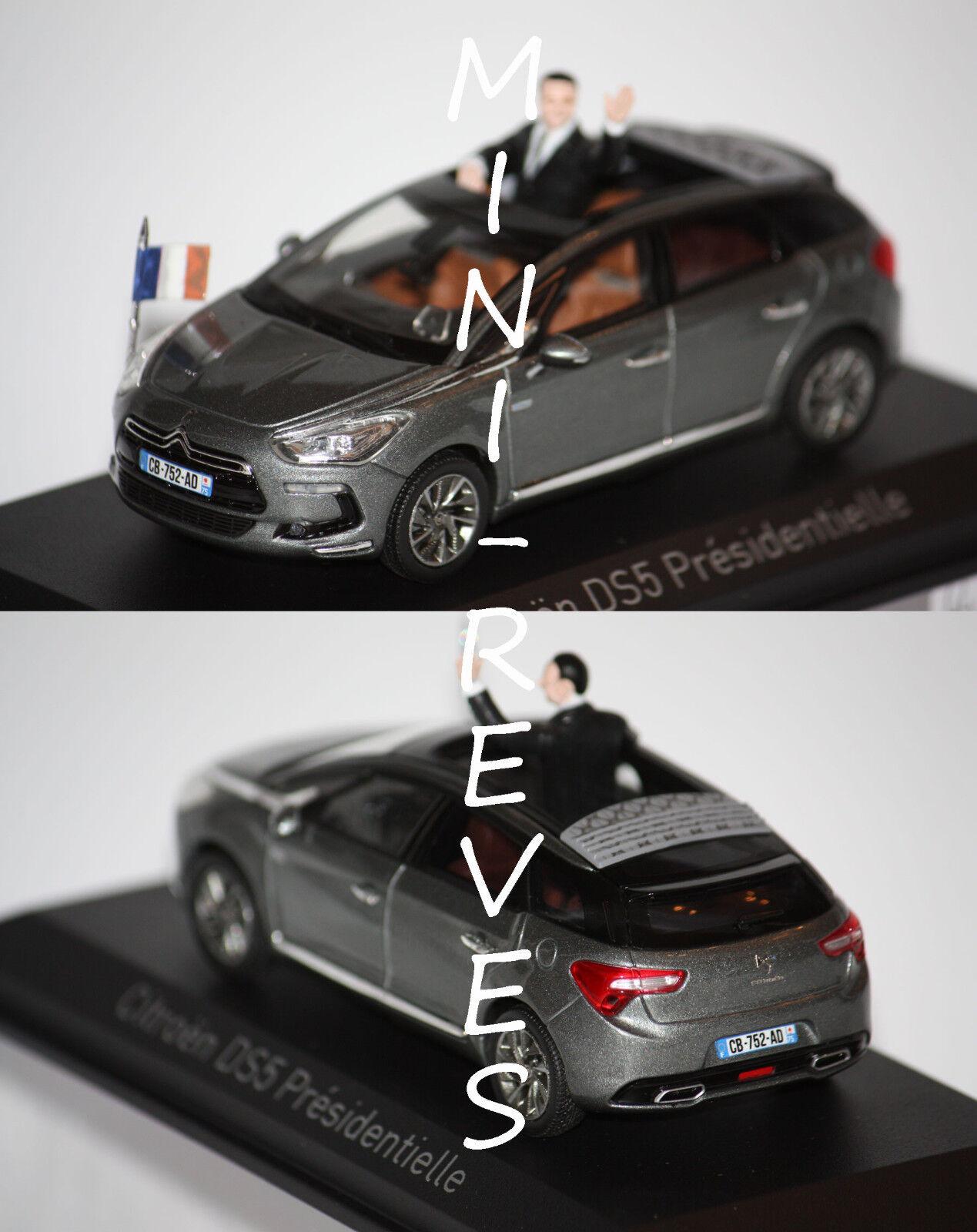 Norev Citroën Ds5 Presidenziale 2012 Grigio Galena 1/43 155593