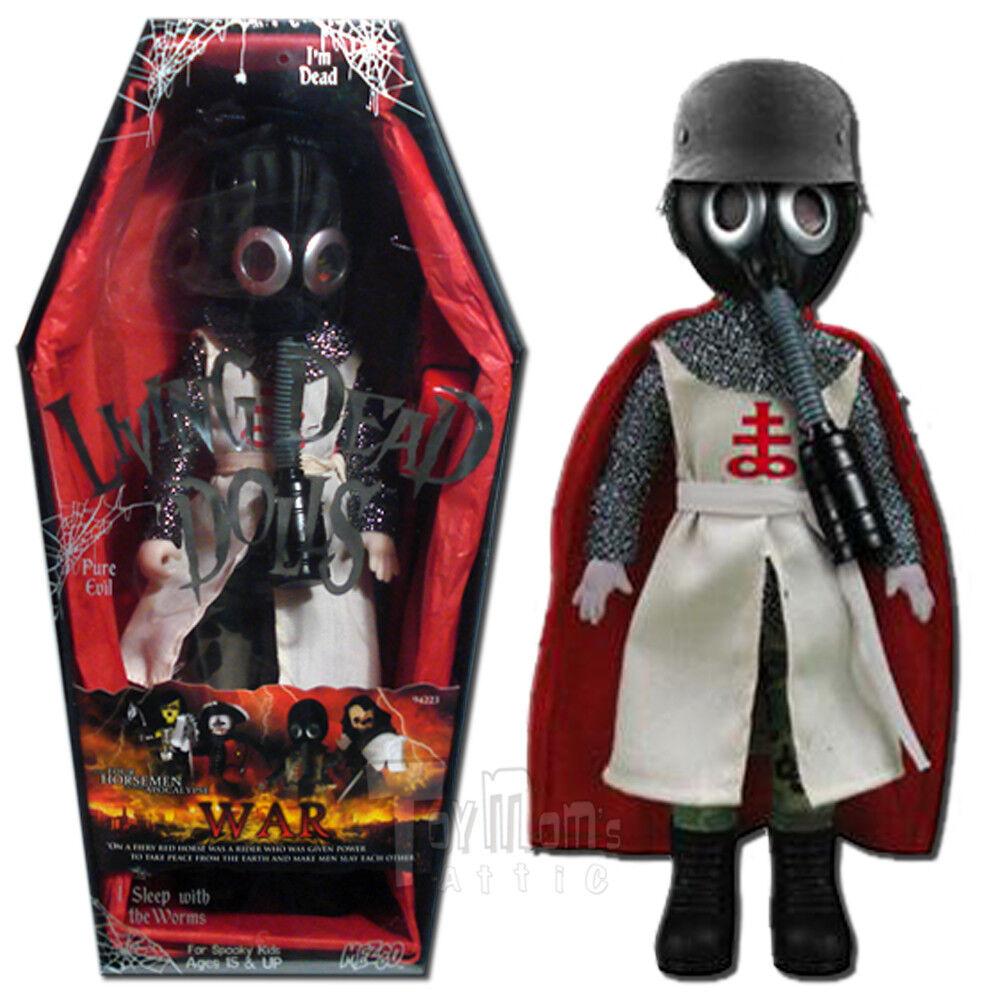 Mezco Living Dead Dolls Four Horsemen-Guerra-sellado menta
