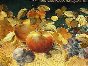 Classic Imperial  Wallpaper Border  Of Fruits