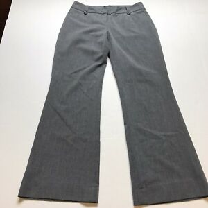 The-Limited-Cassidy-Fit-Gray-Dress-Pants-Size-2S-2-Short-A1652