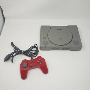 Sony PlayStation 1 PS1 Console Only SCPH-7501 For Parts Or Repair Powers On