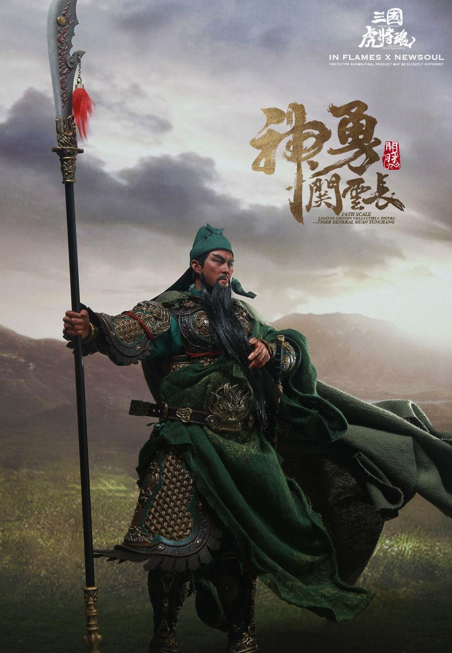 1 6 INFLAMES TOYS IFT-031 Three Kingdoms Series Guan Yu 2.0 Guan Yunchang  Figur
