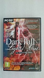 Dark-Fall-Lights-Out-PC-Windows-2009-The-Director-039-s-Cut-Edition