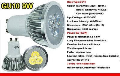 Ultra Bright CREE MR16/GU10/E27/E14 9W 12W 15W Dimmable LED Spotlight Bulbs