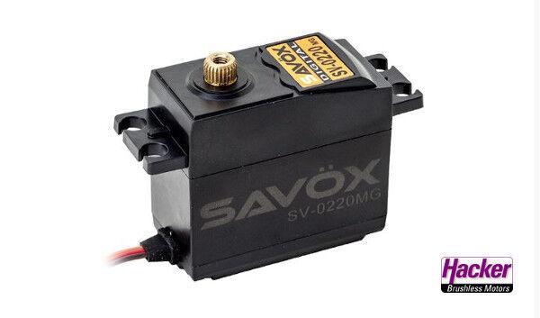 Savöx SV-0220 Mg Servo Alto Voltaggio Servo Digitale 80101048