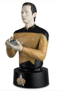 Star-Trek-Lt-Commander-Data-Bust-Mint-In-Box-The-Official-Busts-Collection