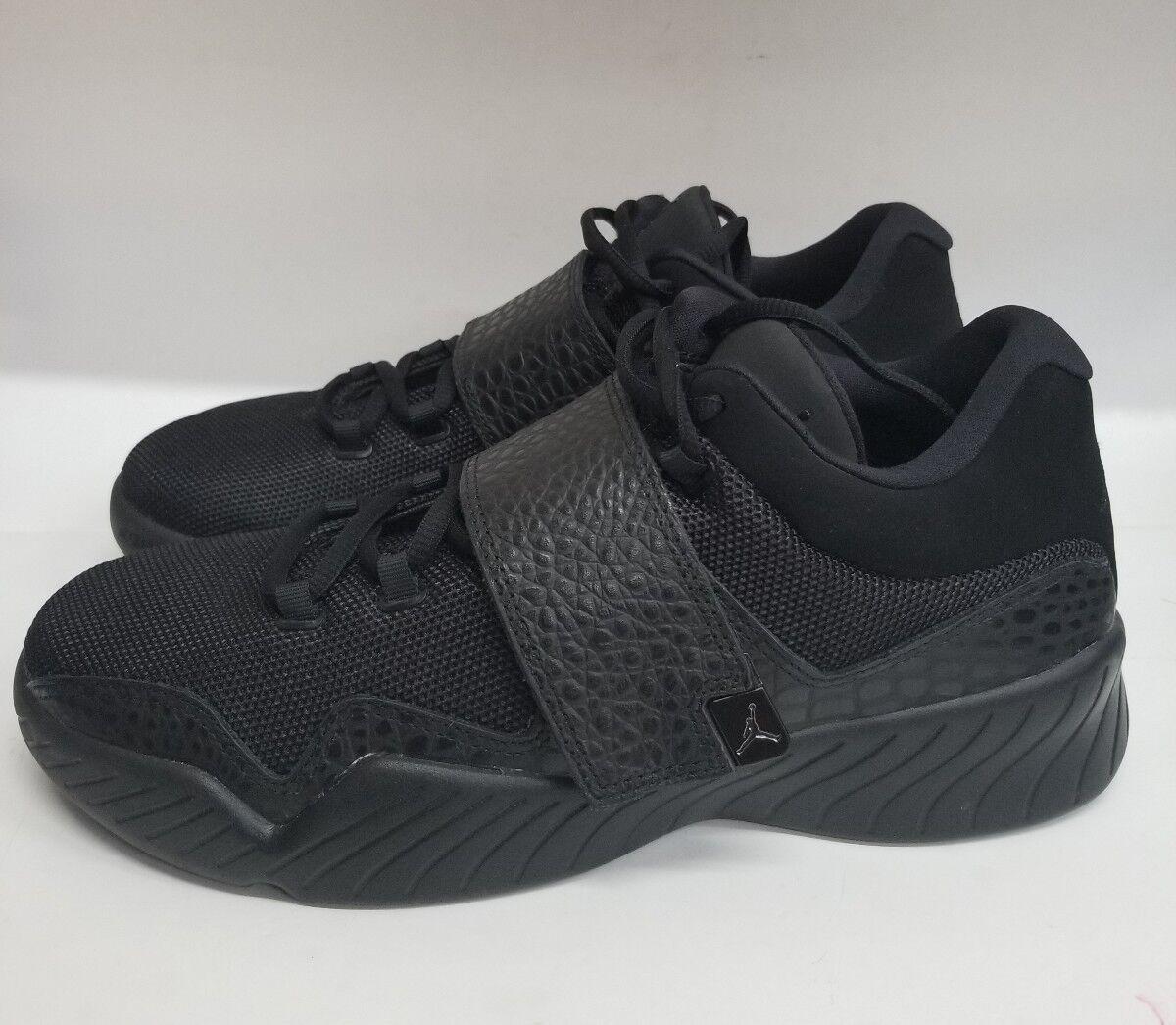 NEW Nike Air Jordan J23 Low Black/Black 854557-001 Men's Size 10 Shoes 854557-001 Black/Black 6cf163