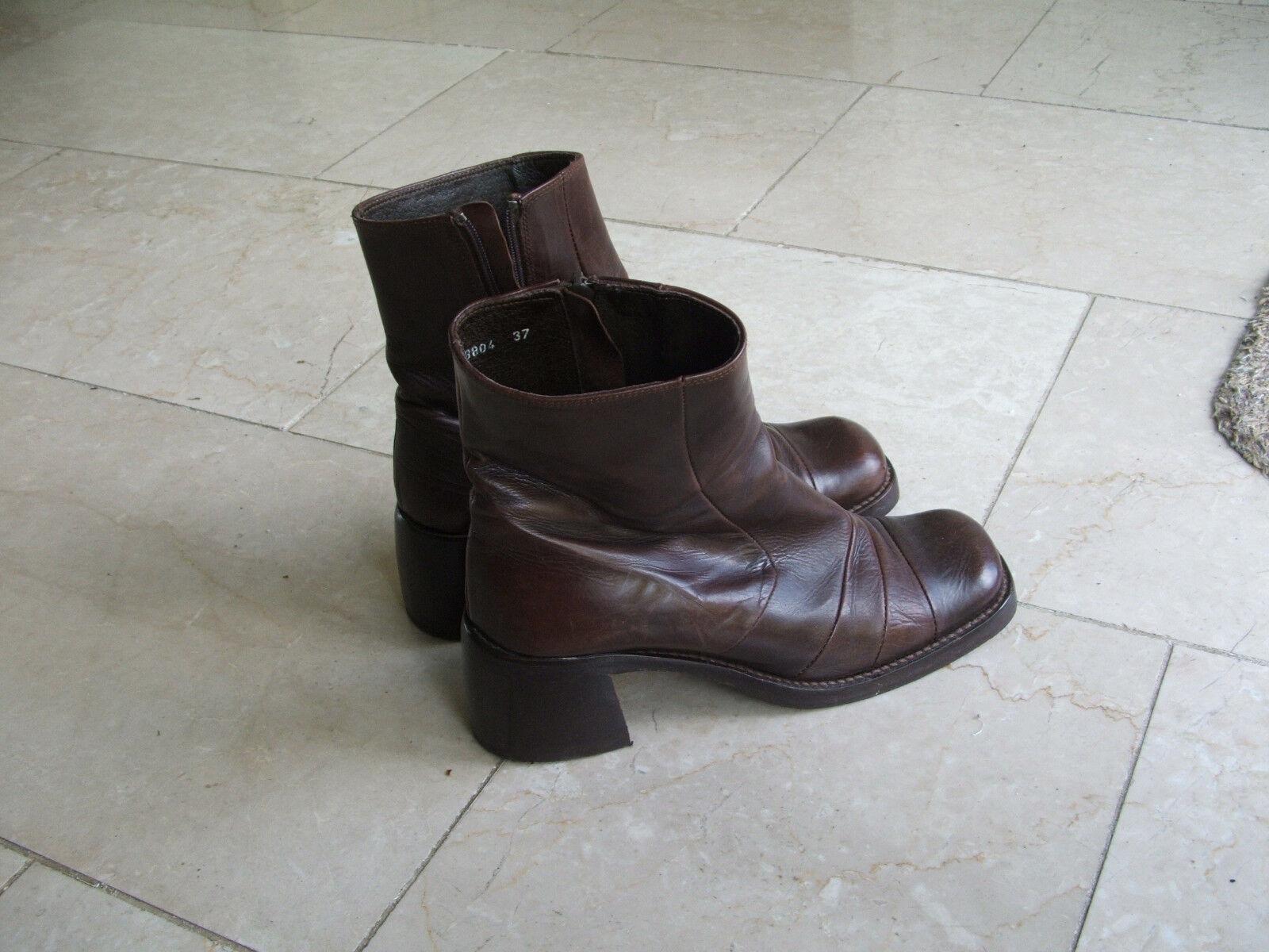 Braune ESPRIT Stiefeletten, Gr. 37 37 37  | Perfekt In Verarbeitung  3ba85c