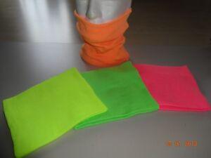 SCALDACOLLO-FASCIA-personalizzata-90-Poliestere-10-Ly-Colore-GIALLO-FLUO-cm-24