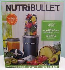 NUTRIBULLET 600-WATT 8-PIECE NBR-0801 NUTRITION EXTRACTOR & BLENDER , NEW