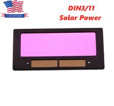 4 14x2 Solar Auto Darkening Welding Lens Filter For Welding Helmet Din311