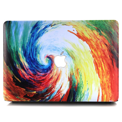 "Colorful Paint Print Matte Hard Case Skin for MacBook 12/""Air Pro 11/"" 13/""15/""+2016"
