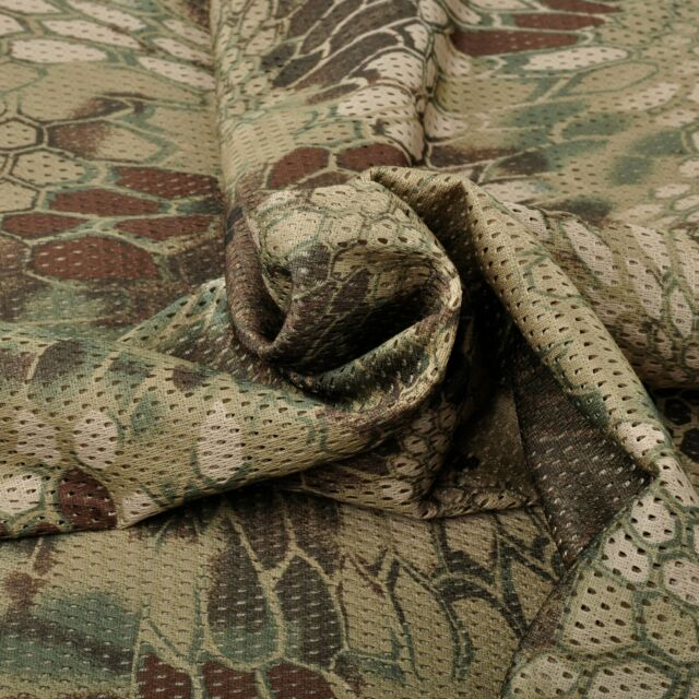 """Highlander Camouflage Camo Net Cover Army Military 60""""W Mesh Fabric Cloth"""
