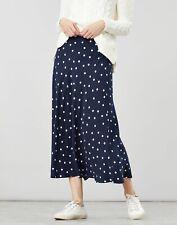 Joules Womens Coletta Bias Cut Skirt - NAVY SPOT