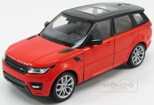 Land Rover Range Rover Sport 2014 Orange Met Black Welly 1:24 WE24059OR