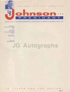 Lyndon-B-Johnson-LBJ-For-President-Stationary-Page