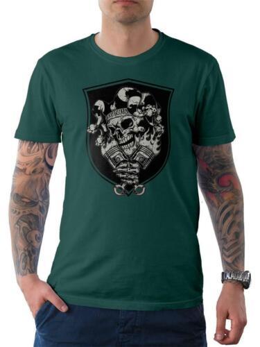 King Kerosin Herren T-Shirt Tee The Joker