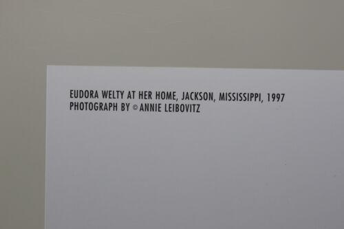 "ANNIE LEIBOVITZ /""Eudora Welty/""  Kunst-Postkarte"