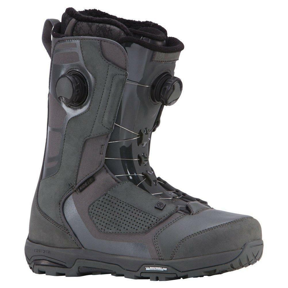 NEW RIDE MENS  INSANO FOCUS BOA GREY SNOWBOARD BOOTS SZ 13  ultra-low prices
