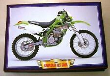 KAWASAKI KLX 300R 300 R CLASSIC MOTOCROSS MOTORCYCLE MX BIKE 2000'S PICTURE 2001