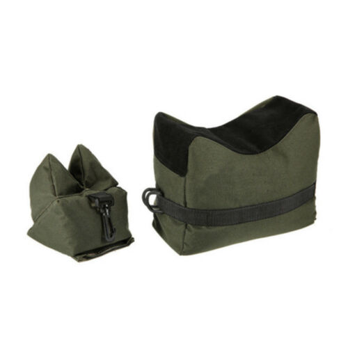 Front/&Rear Sandbag Hunting Shooting Rifle Support Oxford Cloth Unfilled Package