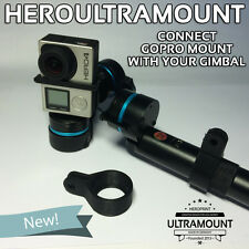 GoPro to Feiyu Adapter - FY G3 G4 Ultra Gimbal 2 3 Axis Steadycam Handheld