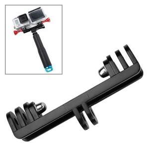 Mount-LED-per-GoPro-Hero4-3-3-SJ4000-TMC-Doppia-GoPro-GoPro