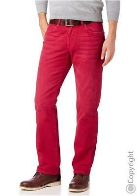 John Devin Jeans Herren Hose Coloured Denim NEU Straight Fit W30-W36 L30