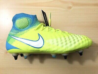 la meilleure attitude db861 df7e8 New Nike Magista Obra II 2 SG Pro Womens Soccer Cleats 844209-718 Volt Size  11.5 | eBay