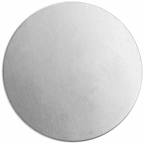 D: 20 mm plaque métallique Aluminium 15 unités ronds Métal-Bouclier