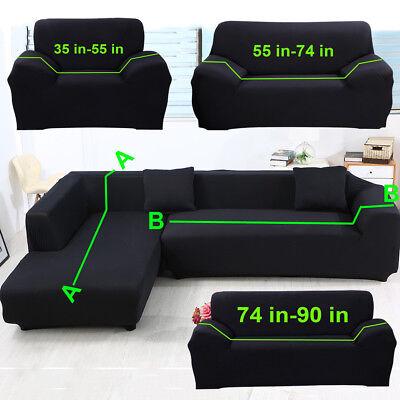 L Shape Sofa Slipcover 1 2 3 4 Seater