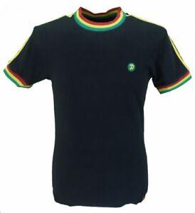 Trojan-Records-Black-Rasta100-Cotton-Ringer-T-Shirt