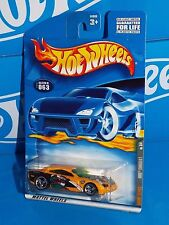 Hot Wheels 2001 Anime Series #063 Dodge Charger R/T Yellow w/ 3SPs