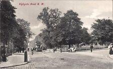 Kentish Town. Highgate Road # 1883 by Charles Martin.