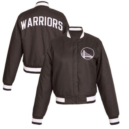 Jh S Golden polyester vent en à State Design pour Warriors logo Up Veste Snap femmes coupe w1qP84AAZ