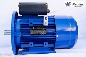 MOLNAR-REPLACEMENT-Electric-motor-single-phase-240v-2-2kw-3hp-2860rpm-B35-Flange