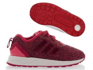 huge selection of ce06f 51b42 Details zu Adidas ZX FLUX Kinder Sneaker ADV Mädchen Schuhe Slipper  pink/weiß Gr. 21 - 27