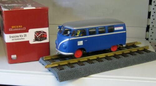 Brekina Spur G Draisine Klv 20 /_ VW Bus T1 mit Motor /_ Wolff Walsrode  /_/_ NEU