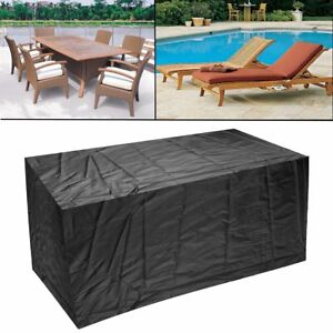 Large Patio Set Cover Outdoor Furniture Waterproof Cover Polyester