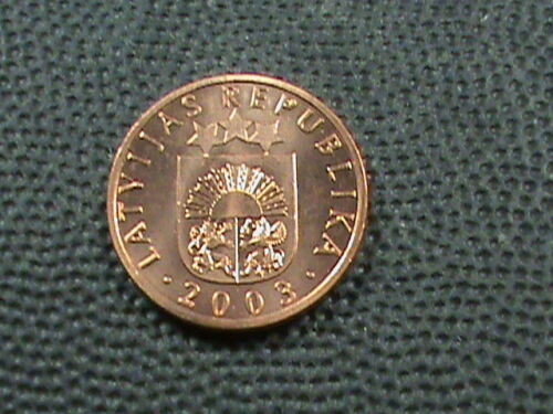 LATVIA   1 Santims   2003   UNC   COMBINED SHIPPING