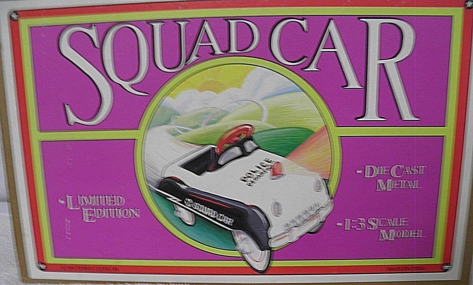 Die Cast Metal Escuadrón Coche Auto A A A Pedal por xonex Co. 28f0eb