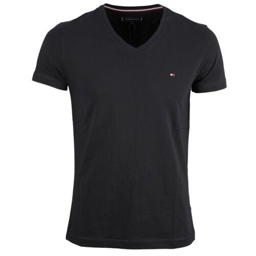 Tommy Hilfiger Homme Basic T-Shirt Noir MW0MW02045 083