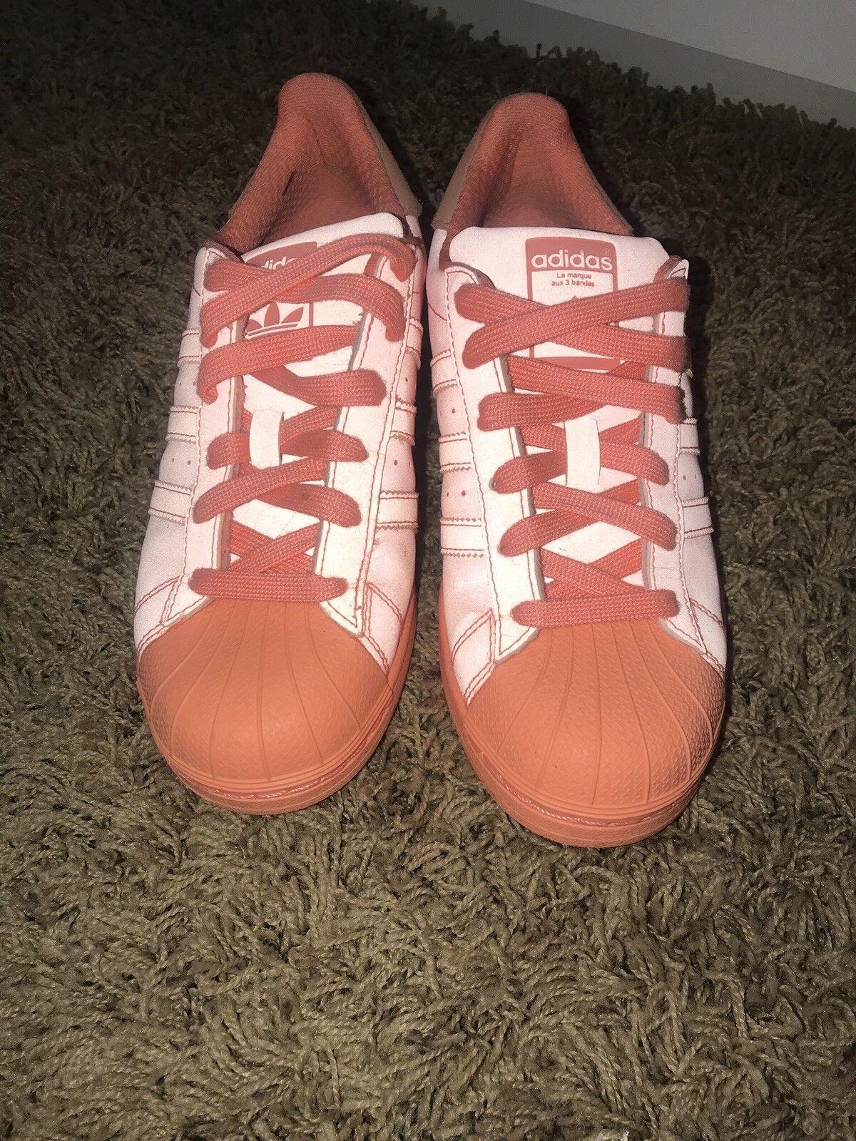 Adidas superstar riflettente peach scarpe scarpe scarpe mens s80330 scarpe shelltoe misura 4,5 | Facile da usare  966a0c