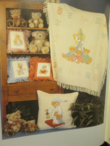 Cherished Teddies Cross Stitch Book Your Choice-Gloria /& Pat//Priscilla Hillman