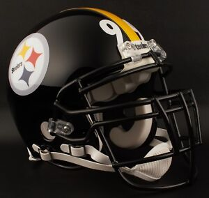 1e2b75c5 Image is loading LEVON-KIRKLAND-Edition-PITTSBURGH-STEELERS-Riddell-REPLICA- Football-