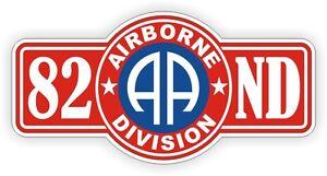 82nd Airborne Hard Hat / Helmet Decal Sticker Label Army Division Iraq War USA